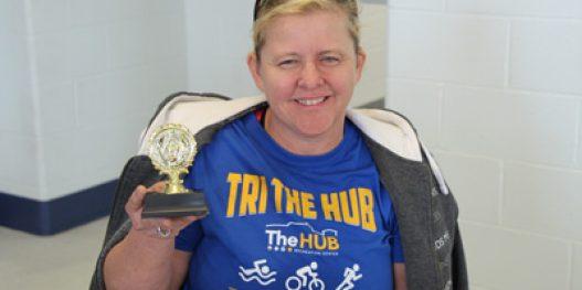 Tri The HUB Indoor Triathlon Trophy Winner