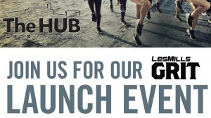 Text Image Join Us for our Les Mills GRIT Launch Event