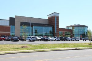 Front of The HUB Recreation Center