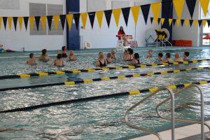 Senior Water Aerobics Class at The HUB Recreation Center in Marion Illinois