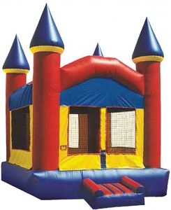 Inflatable Fun Castle Bounce at The HUB Recreation Center