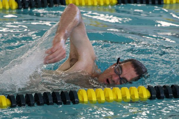 Paul DeMichele Swimming at The HUB Recreation Center