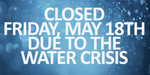 Water Crisis Closure at The HUB in Marion, Illinois
