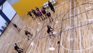 Southern Illinois Select Volleyball Club Playing at The HUB Recreation Center