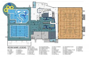 The HUB First Floor Plans