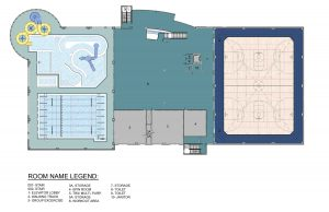 The HUB Second Floor Plans