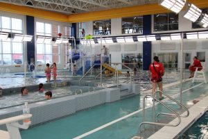 Pools at The HUB Recreation Center in Marion Illinois