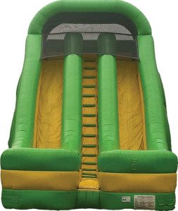 Inflatable Fun 24 Foot John Deere Slide Inflatable Fun Mega Combo at The HUB Recreation Center