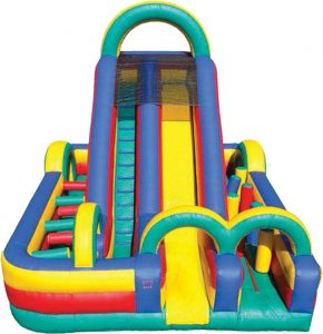 Inflatable Fun Super Obstacle Course