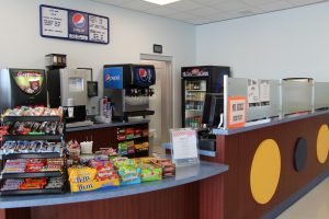 Concession Stand Food at The HUB Recreation Center