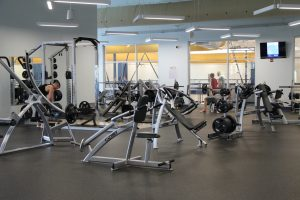 Fitness Equipment at The HUB Recreation Center