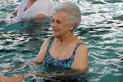 Norma Spees Swimming at The HUB Recreation Center