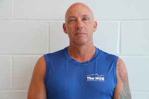 Personal Trainer Martin Jennings at The HUB Recreation Center