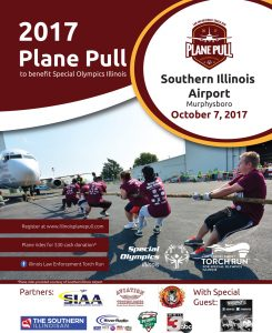 Plane Pull Flyer for HUB Haulers at The HUB Recreation Center