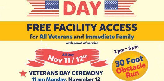 Veterans Day at The HUB Recreation Center in Marion, Illinois