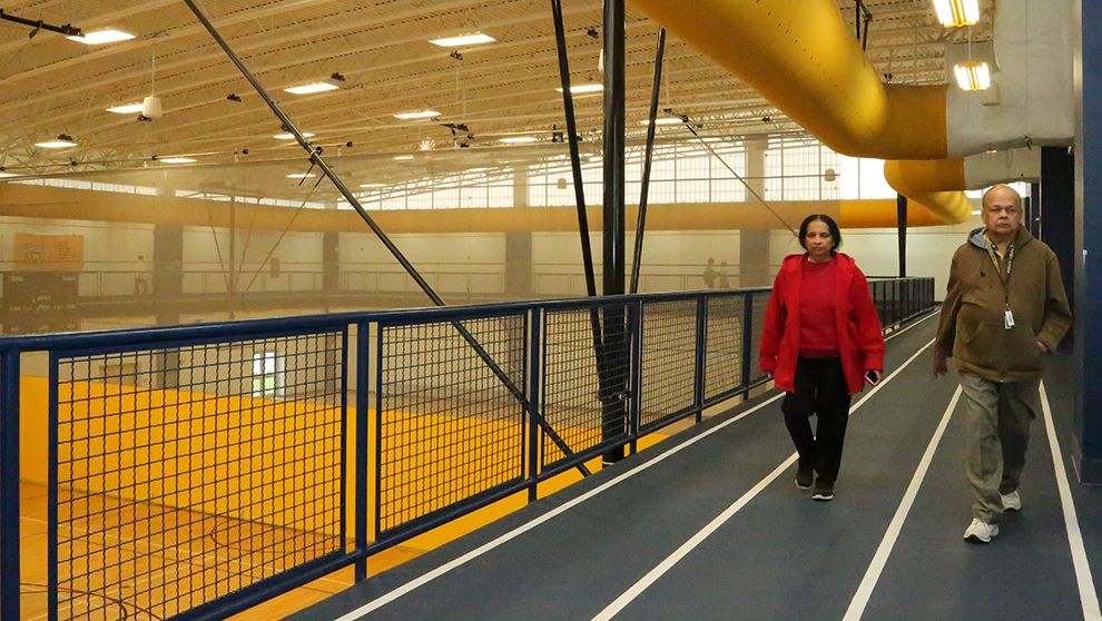 Morning at The HUB Recreation Center in Marion Illinois